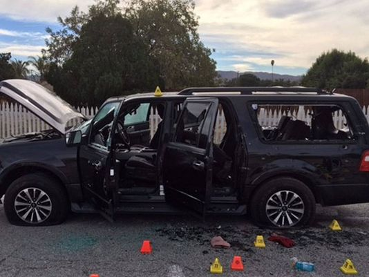 SUV used in San Bernardino